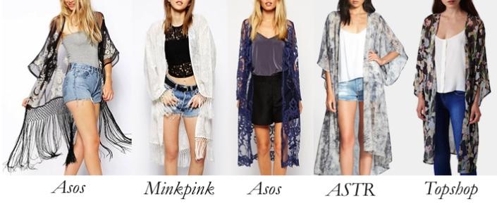 ASOS_Minkpink_ASTR_Topshop_Kimonos