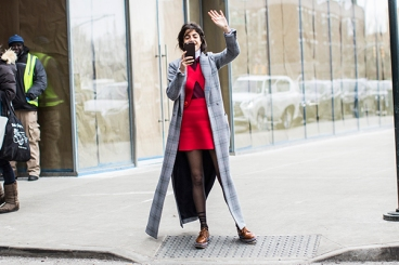 New York, NYFW FW 2015 day3, Leandra Medine
